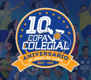 Copa Colegial. 10º Aniversario