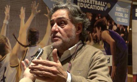 Entrevista a Pepu Hernández. I Simposio Baloncesto Colegial