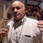 Entrevista a Vicente Ramos. Jugador de Estudiantes, Real Madrid, Selección Española y el Ramiro. I Simposio Baloncesto Colegial