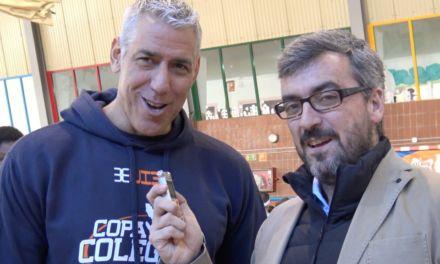 Joe Arlauckas. Presentación Copa Colegial 2017