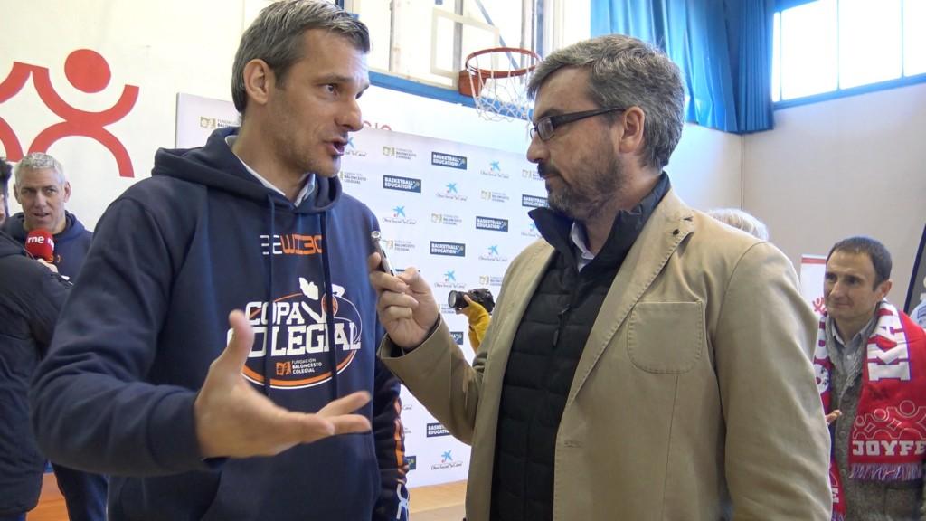 Todo nace en tu cole. Entrevista a Nacho Rodilla. Presentación Copa Colegial 2017