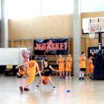 Minibasket: Ejercicio 1×1 frontal con ventaja para la defensa