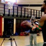 ¿Qué es GuideBow, cómo se utiliza en el entrenamiento de tiro en baloncesto y qué experimenta el jugador que entrena con él?