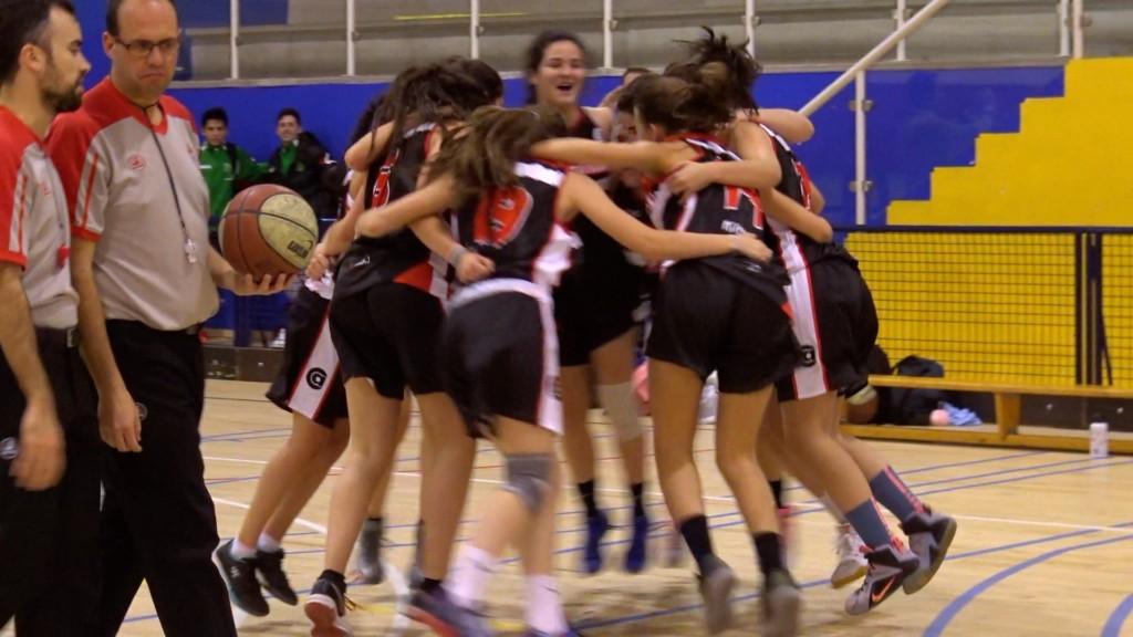 El partido de las dos prorrogas: Cuartos de final Copa Colegial Madrid 2017. Alameda de Osuna vs Agustiniano femenino.