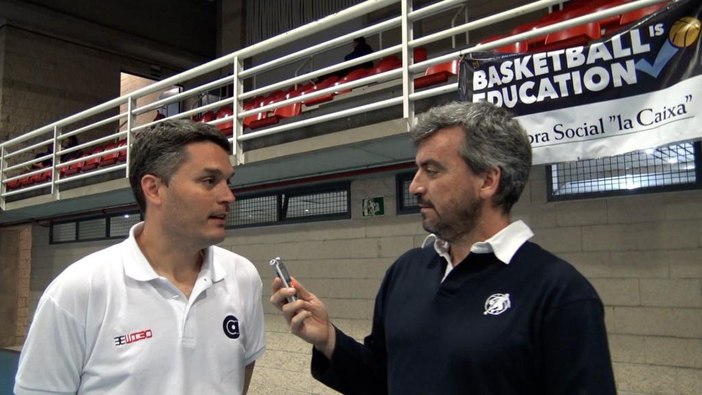 Entrevista entrenador Agustiniano femenino. Impresiones Copa Colegial Madrid 2017.