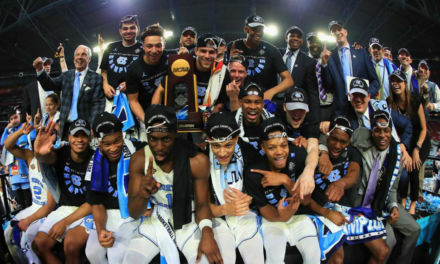 North Carolina gana en el barro