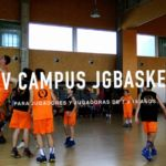 Campus Baloncesto JGBasket 2017. XV Edición. Plazas limitadas