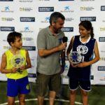 Peque Copa 2017. Entrevistas Final