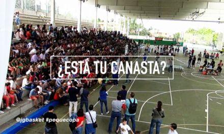 PequeCopa 2017 ¿Está tú Canasta? Fase final. Tarde