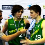 Entrevista a Carlos García-Mauriño y Pablo Suárez (Maristas Chamberí) MVPs de la final y de la Copa Colegial 2017 respectivamente