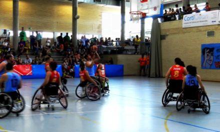 Baloncesto en Silla de Ruedas. Partido exhibición Getafe BSR vs Selección Española Femenina. XIII Torneo Veritas.
