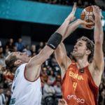 Eurobasket 2017. Sólo España y Eslovenia se mantienen invictas. Pau Gasol se convierte en el máximo anotador de la historia de los Eurobasket.