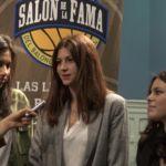 Salón de la fama Baloncesto Colegial. Clase 2017. Entrevista a Patricia Díaz, Nuria Herrero, Jocelyn Vilarreyes. Colegio Corazonistas