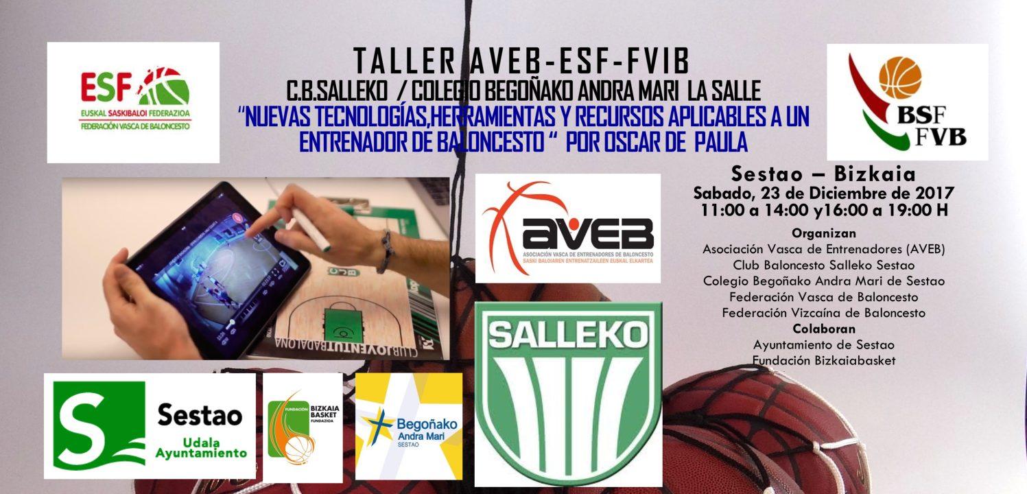 Taller AVEB: Nuevas tecnologías, herramientas y recursos aplicables al entrenador. Oscar de Paula. Sestao. Bizkaia  Sabado, 23 de Diciembre