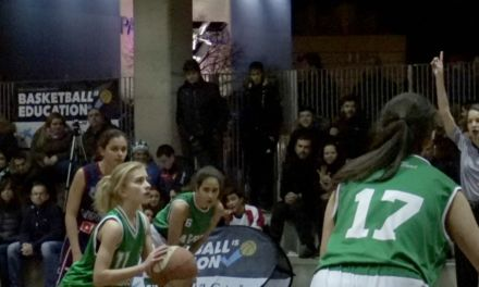 Videos: Cabrini vs Menesiano femenino. Copa Colegial Madrid 2108