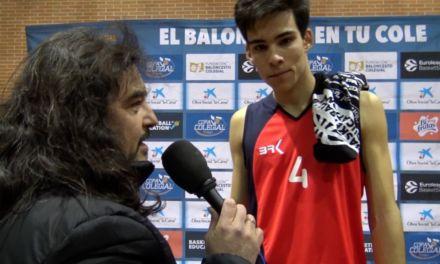 Entrevistas a Alvaro (Cabrini) y Germán (Valdeluz). MVPs partido Copa Colegial Madrid 2018