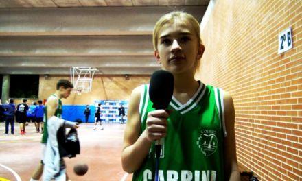 Entrevista jugadoras MVP, partido Cabrini vs Menesiano femenino. Copa Colegial 2018