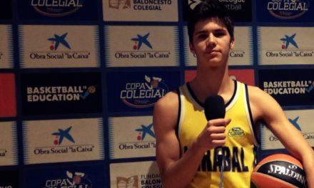 Entrevistas a Miguel Angel, jugador de Mirabal, Nacho y Angel de Patrocinio de San José. Impresiones Copa Colegial Madrid 2018