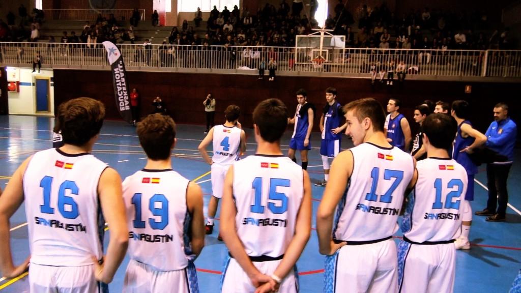 Hudle motivacional y presentación San Agustín vs Brains. Copa Colegial 2018