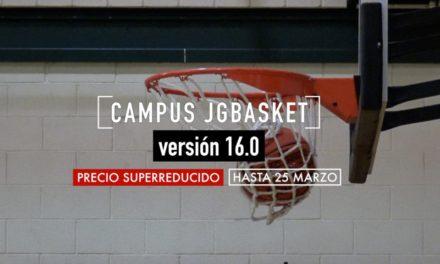 Campus JGBasket, la mejor opción para este verano. Baloncesto al 100%