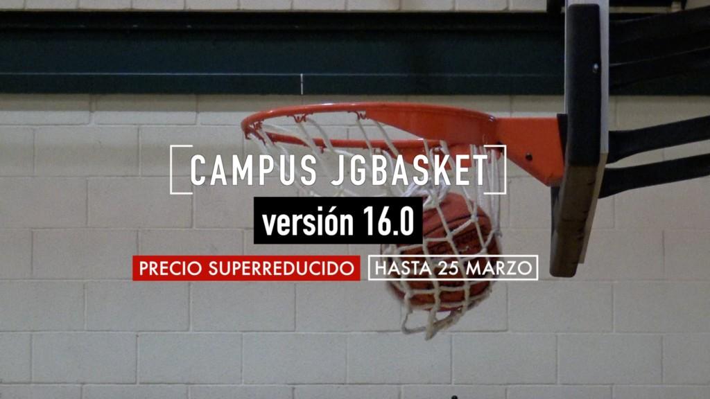 Campus Baloncesto 2018 | JG Basket. Inscripción a precio superreducido hasta el 25 de Marzo