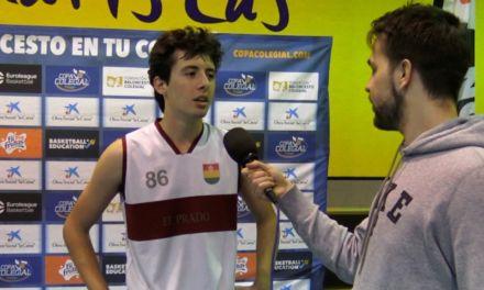 Entrevista a Antonio Insua, jugador destacado del Colegio Prado. Semifinalista Copa Colegial 2018