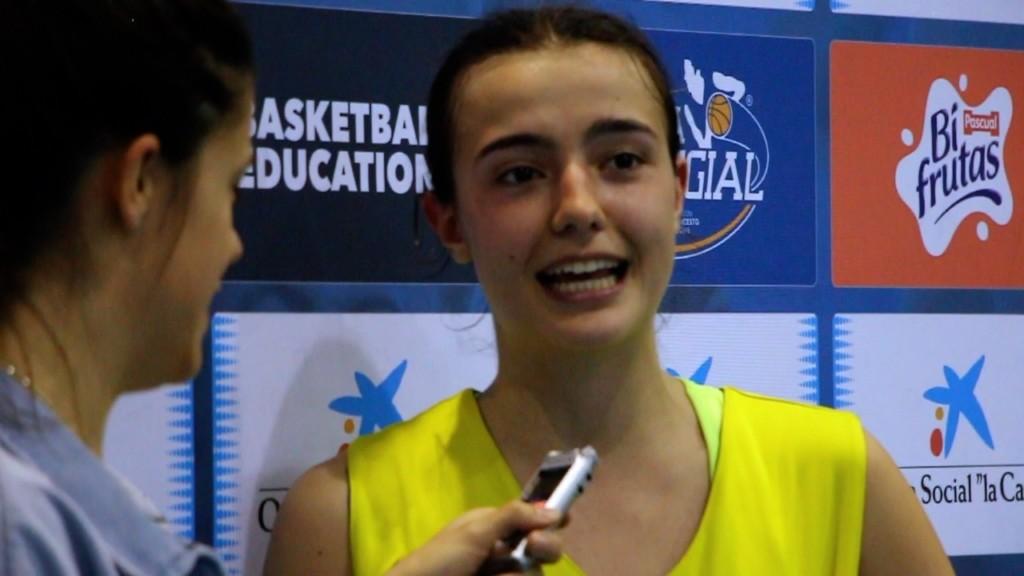 Entrevista a Paula Navalón de Colegio Estudio tras clasificarse para la Gran Final de la Copa Colegial 2018