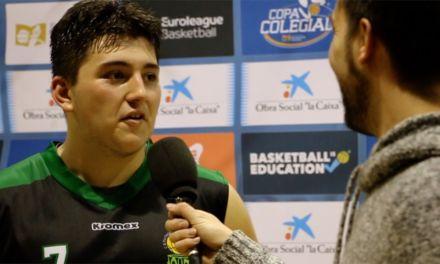 Entrevista a Domingo García Lavara. Patrocinio de San Jos. Semifinal Copa Colegial Madrid 2018