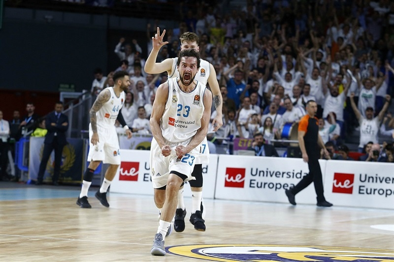 El Madrid remonta la serie y estará en la Final Four de Belgrado