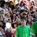 Comienzo partido. Gran Final Copa Colegial Madrid 2018. Brains vs Arturo Soria