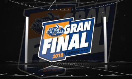 Highlights: Final Copa Colegial 2018. Arturo Soria – Brains.