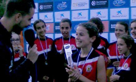 Entrevista jugadoras Corazonistas. Ganadoras Peque Copa Colegial Madrid 2018