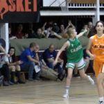 """Ana Montero (Cabrini) """"on fire"""" en el All Star Colegial Madrid"""
