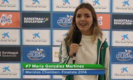 Recuerdos de la Final Copa Colegial Femenina 2014. María nos habla cuatro años después