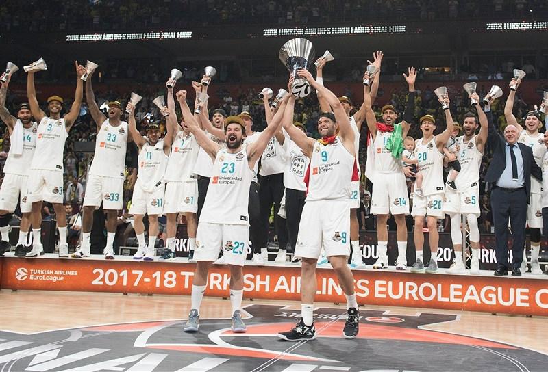 Final Four Euroliga 2018. Y llegó la Décima