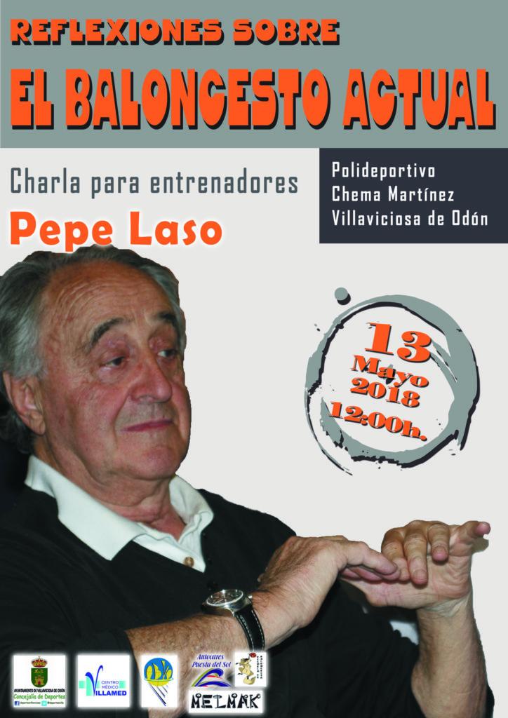 Charla para Entrenadores. Reflexiones sobre el baloncesto actual. Pepe Laso. ADCV en Villaviciosa de Odón. Domingo 13 de Mayo