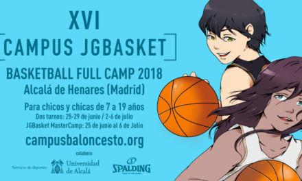 ¿A estas alturas sin plan baloncestístico para el verano? No des más vueltas: Campus JGBasket