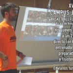 Directos Campus JGBasket. 21 Junio. Carlos Fort. Preparador físico baloncesto