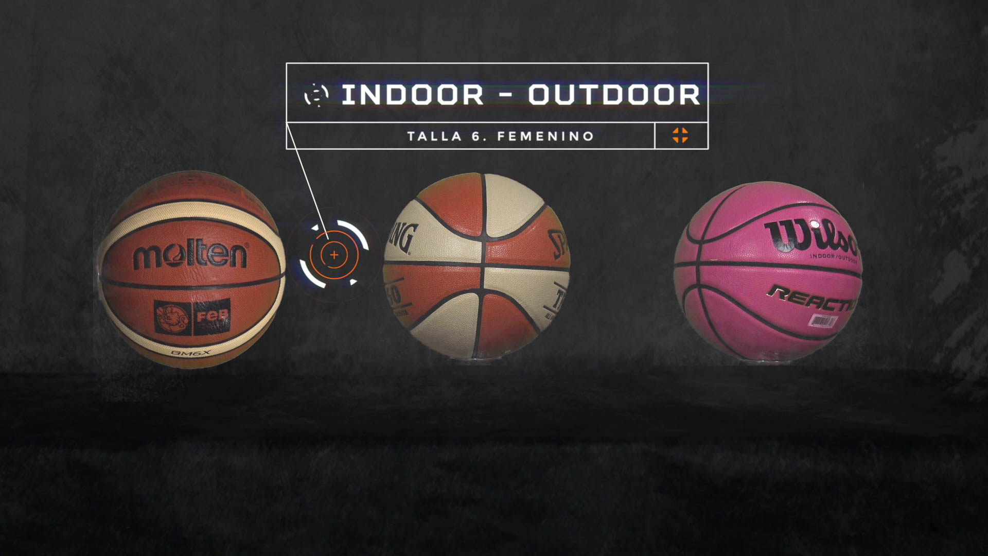 Spalding Cuero, Juego, Composite Pelota de Baloncesto