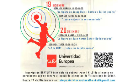 Programa II Simposio Internacional Solidario de Baloncesto. Universidad Europea de Madrid