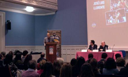 Discurso de José Luis Llorente. Padrino Salón de la Fama Copa Colegial Madrid 2018.