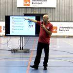 Ejercicio de pase baloncesto con superioridad defensiva. 2x2x2. Ángel Manzano. #SISB