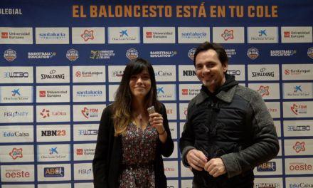 Entrevista: Javier Callejo. La Otra de Telemadrid. Presentación Copa Colegial Madrid 2019