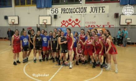 Videos: Joyfe vs Veritas femenino. Copa Colegial Madrid 2019