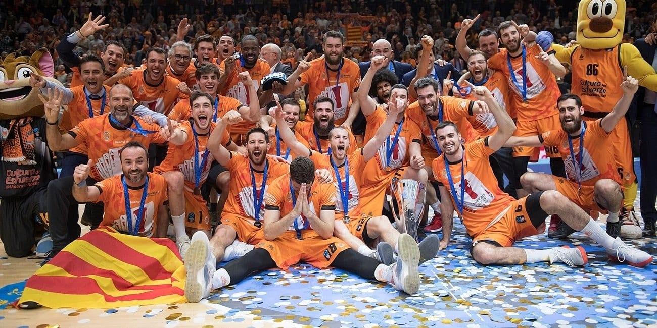El Valencia Basket levanta su cuarta Eurocup