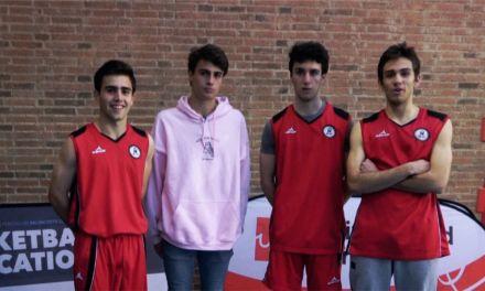 """Entrevista al capitán, entrenador y dos jugadores """"cracks"""" de Escolapios Pozuelo. Finalistas Copa Colegial"""
