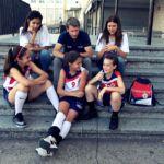 Entrevista a Jocelyn, Patricia, Carmen, Marta y Mariana de Corazonistas PequeCopa Colegial 2019