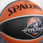 Gameball Final Four Vitoria. Euroliga. Spalding TF-1000