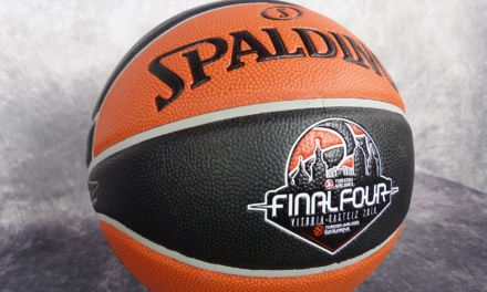 Gameball Final Four Vitoria. Euroliga. Spalding TF-1000
