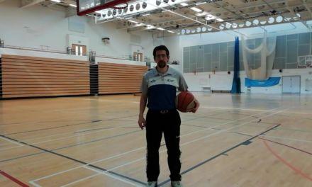1. Recibir y tirar. Paso interior y paso exterior (Cuando el defensor te sigue). CP Basketball Moves